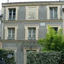 Wagners Wohnhaus in Paris